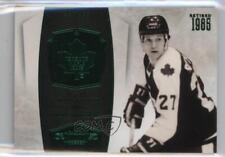 2010 Panini Dominion Emerald #148 Darryl Sittler Toronto Maple Leafs Hockey Card