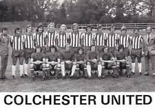 COLCHESTER UNITED FOOTBALL TEAM PHOTO>1974-75 SEASON