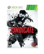 Syndicate Microsoft Xbox 360 2012 RPG Video Game