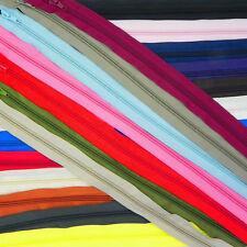 22 Colores 14 Tamaños ❋ Espiral Espiral cremalleras Nailon Abierta Cremalleras ❋ Hecho En Europa