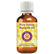 Pure Yellow Marigold Oil (Calendula officinalis) 100% Natural Therapeutic Grade