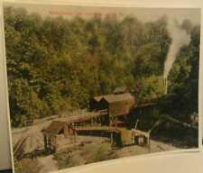 Old Larimer Pa. Westmoreland Coal Co. RR Mine Irwin North Huntington Twp. Print