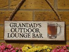 Personalizzata Outdoor BAR SIGN GIARDINO BAR GAZEBO summerhouse Decking PATIO Booze