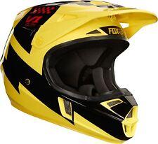 2018 Fox Youth V1 Mastar Helmet Yellow