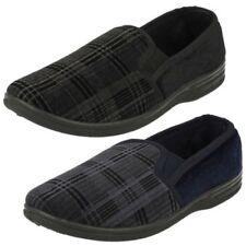 Uomo Spot On qualità Pantofole - 'MS20'