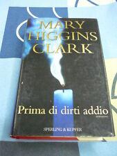 Prima di dirti addio Mary Higgins Clark