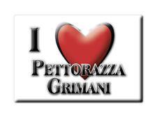 CALAMITA VENETO FRIDGE MAGNET MAGNETE SOUVENIR LOVE PETTORAZZA GRIMANI (RO)