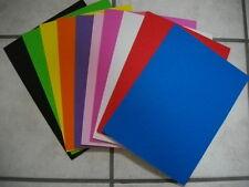 Moosgummi-Platte 30 x 20 cm   2 mm stark in 10 Farben