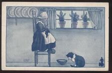 Postcard Promo Ad WALK OVER SHOES DUTCH CHILDREN #5 view 1910's?