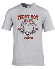 Teddyboy Rock Camiseta Rock & Roll Punk Camiseta años 50 Teddy Boy Rockabilly