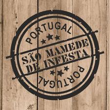 Vinilo de Corte São Mamede de Infesta Pegatina Portugal 10 cm Adhesivo Pared