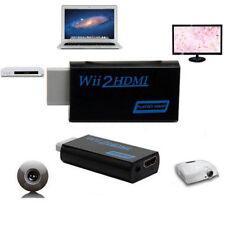 3,5 mm salida de audio jack Wii a Wii2 HDMI Full HD 1080p convertidor adaptador