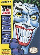 Batman: Return of the Joker, nintendo_entertainment_system, Video Games