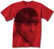 Three Stooges Big Moe RED Adult T-Shirt