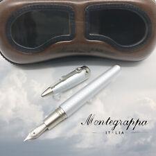 Montegrappa Special Edition Aviator Pen Aluminum Fountain Pen