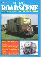 Vintage Roadscene Vol 3 No 10 Fire engine Thornycroft Midland Red Leyland Albion