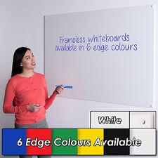 Wonderwall Frameless Whiteboard 120x120CM with Coloured Edges - 6 colours