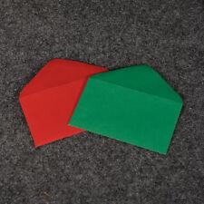 "Enclosure Card Envelope Holiday Colors Asst 2 1/2""x4 1/4"" #63 (Choose Pack)"