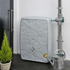 Regentonne Regenwassertank Regenwassertonne Multitank 250L grau Wassertank Fass
