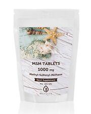 MSM Methylsulphonylmethane 1000mg 7-30-60-90-120-180-250 Tablets UK