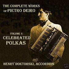 CD: Celebrated Polkas for Solo Accordion by Pietro Deiro