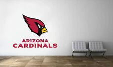 Arizona Cardinals Logo Wall Decal NFL Football Decor Sport Vinyl Mural Sticker