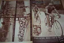 MIROIR SPRINT  1950 TOUR DE FRANCE : METZ - LIEGE