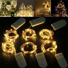 1m/2m/3m/5m LED String Lights For Party Wedding Decoration Christmas UK