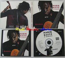 CD HABIB KOITE & BAMADA baro digipack 2001 putumayo world music NO lp mc dvd vhs