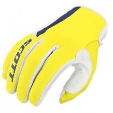 Scott Handschuhe 350 Dirt Glove in blau-gelb MX MTB DH Offroad Enduro