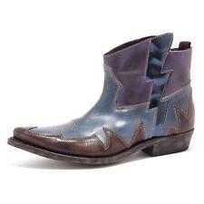 6827U stivale texano donna MATERIA PRIMA blue/violet boots woman