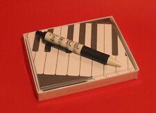 Music Keyboard Design Pack Of 8 Blank Cards Teacher