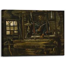 Van Gogh tessitori design quadro stampa tela dipinto telaio arredo casa