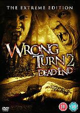Wrong Turn 2 - Dead End (DVD, 2008) Henry Rollins, Erica Leerhsen