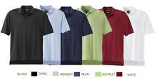 ADIDAS GOLF Mens Size S M L-XXL 3XL ClimaCool Horizontal Textured Polo Shirt a03