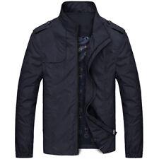 SUPER TENDANCE HOMME Vestes MODE décontractée Manteau Collier SLIM court