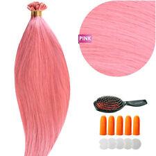 Keratin Bonding (# Pink) Hair Extensions 100% Remy Echthaar Haarverlängerung