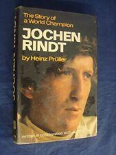 Jochen Rindt by Pruller, Heinz Hardback Book The Cheap Fast Free Post