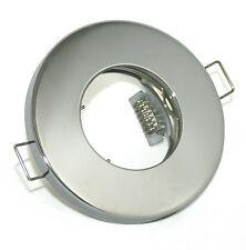 Bad Einbau Leuchte 230V GU10 LED / Halogen Spritzwassergeschützt Deckenspot