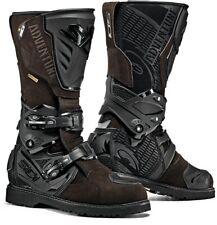 NUOVO SIDI ADVENTURE 2 Gore-Tex Impermeabile Traspirante Stivali da moto marrone