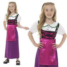 filles bavarois Déguisement princesse enfants Servante tenue par SMIFFYS