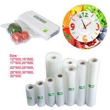 Vacuum Food Sealer Saver Seal Bags Storage Packing Roll Commercial Heat Grade