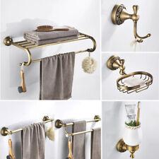 Antique Brass Bathroom Accessories Sets Wall Mounted Bathroom Hardware Set Pxz05