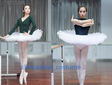 Professional Classical Ballet Tutu Ladies 6 Layer Hard Organdy Platter Skirt New