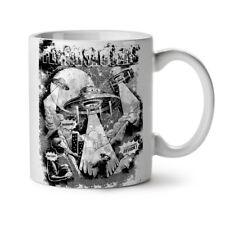 Ufo Flying Saucer Alien Attack NEW White Tea Coffee Mug 11 oz | Wellcoda