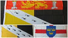 Norfolk Flag English East Anglia Cricket Norwich NCFC Heraldic Medieval 5x3
