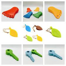Door Stop, feet, key & leaf wedges, stopper, jam, block, jammer, stops, wedge