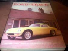 Road & Track Magazine 8/1958 Lotus Elite
