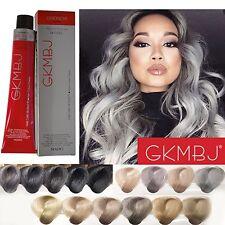 GKMBJ Hair Colour Cream 100 gram Advanced Monomer Technology * New Grey Colors *