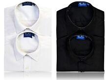 Boys CKL Long Sleeved Shirt - 2 Pack (NON IRON - STAIN,OIL & WATER REPELLENT) *